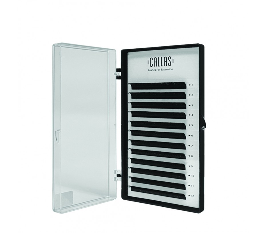Callas Individual Eyelashes for Extensions, 0.05mm D Curl - 10mm
