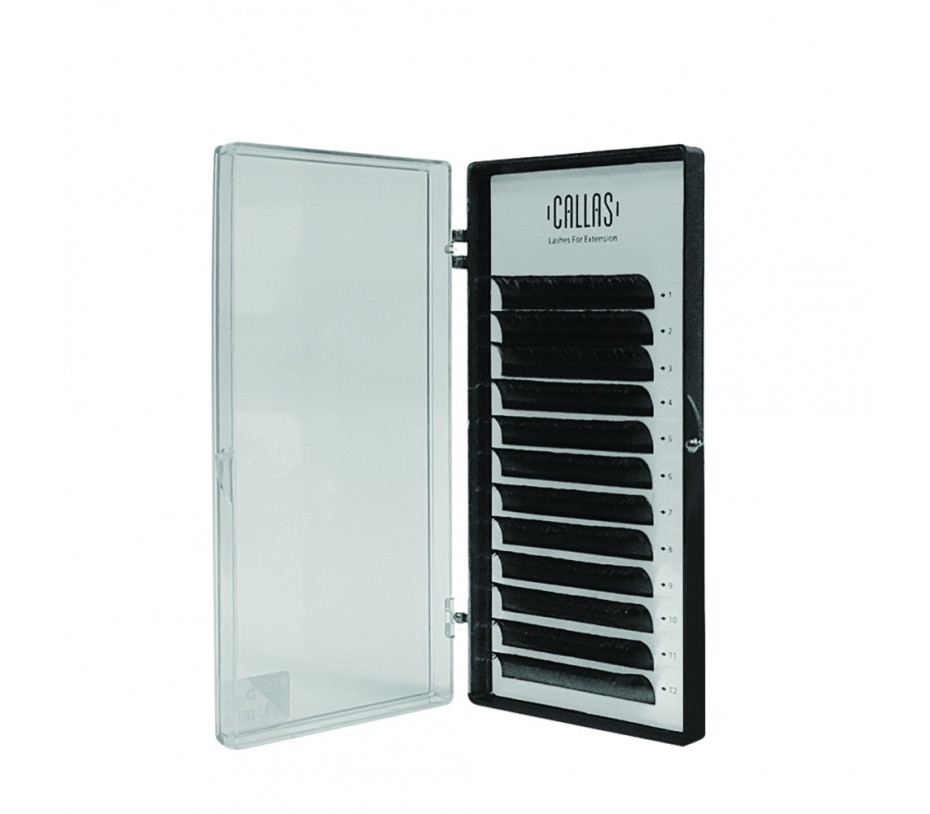 Callas Individual Eyelashes for Extensions, 0.05mm D Curl - 13mm