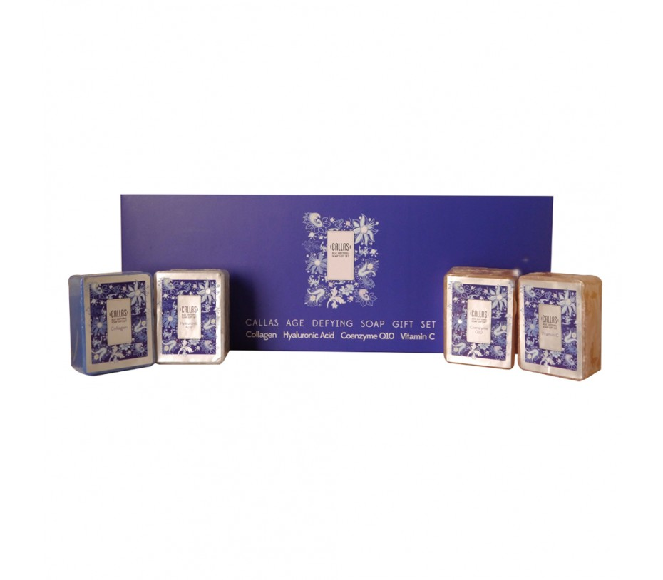 Callas Soap Gift Set x 4 (Age Defying)