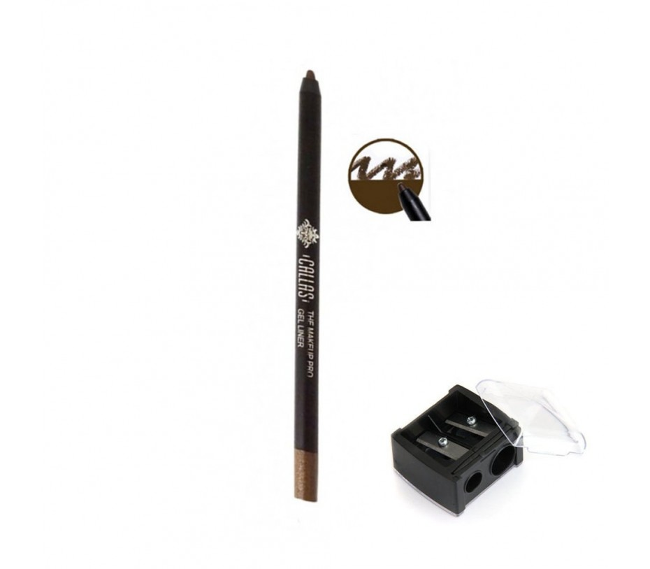Callas The Make Up Pro Gel Eye Liner (CGE06 Glam Mocha) 0.52fl.oz/15.4ml