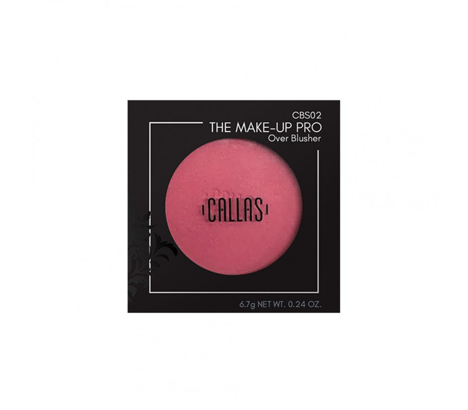 Callas The Make Up Pro Over Blusher (CBS02) 0.24oz/6.8g