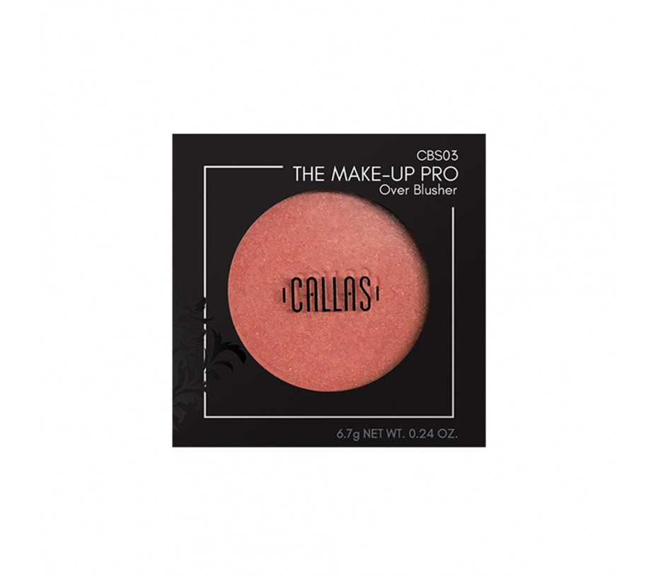 Callas The Make Up Pro Over Blusher (CBS03) .24oz/6.8g