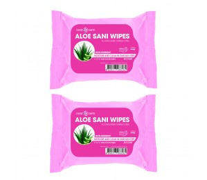 Dearderm Aloe SANI Wipes 30 counts x 2pcs