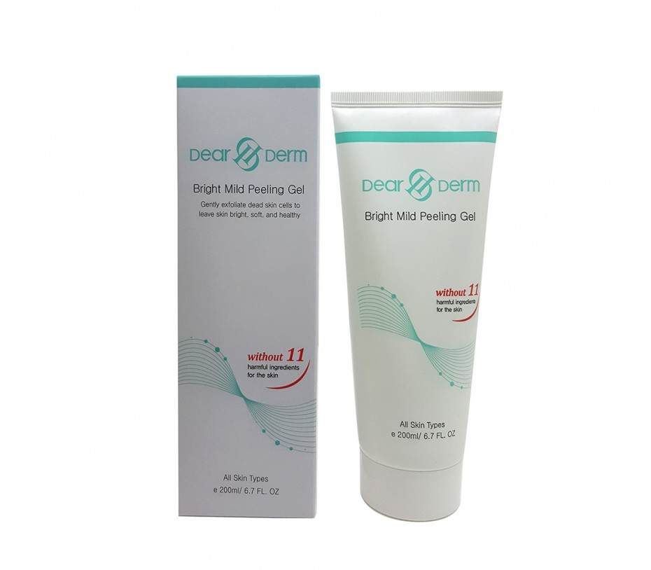 Dearderm Bright Mild Peeling Gel 6.7fl.oz/198ml
