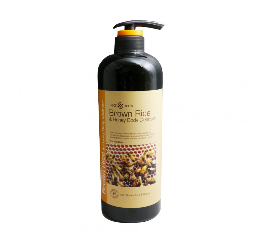 Dearderm Brown Rice & Honey Body Cleanser 27oz/765g