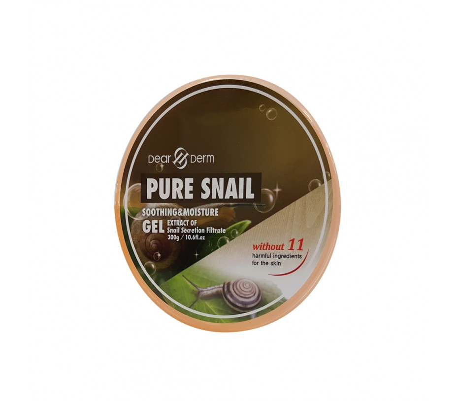Dearderm Pure Snail Soothing & Moisture Gel  10.58fl.oz/313ml